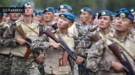 контрактники армия казахстана