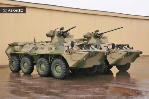 бтр армия казахстана