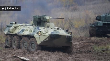 Боевая машина поддержки танков БТР-82