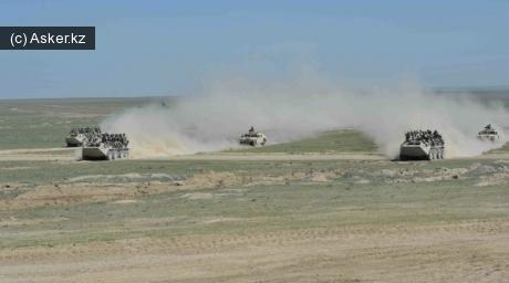 Поддержка десантных подразделений сухопутными войсками