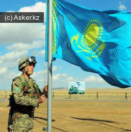 призывник казахстанской армии