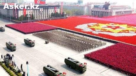 парад в КНДР